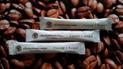 Порционный сахар Кофейный мир в стиках